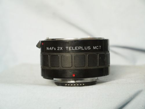 Nikon Autofocus Fit 2x Teleplus 7 Element Converter -Film + Early Digital- Nice-